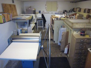 01 Studio and Etching Press